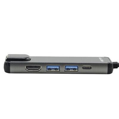 USB 3.1 Typ C Hub mit 2x USB 3.0, 1x HDMI 1.4,1x USB C, 1x Ethernet Port, 1x VGA (Usb Hub Vga)