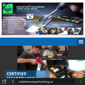 CELL PHONE REPAIR COURSE TRAINING VANCOUVER IN CANADA