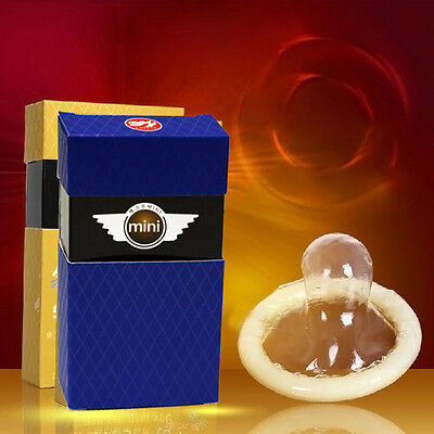 10pcs/set Adult MINI Extra Small Condoms Ultra Thin Tight Trumpet Condoms