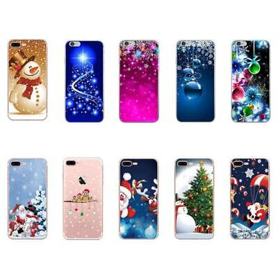 New Christmas pattern Soft TPU Phone case for iphone 11 Pro Max XS 2019 Case  ()