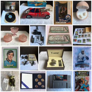 ONLINE COLLECTIBLES AUCTION ENDS OCT 22ND