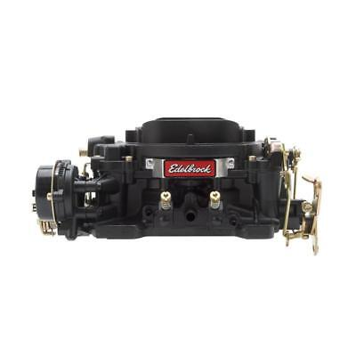 Edelbrock Carburetor 14063; Performer 600 cfm 4 Barrel Vacuum Secondary Black