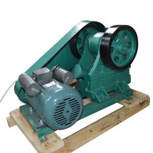 220V Adjust Top Quality Jaw Crusher for Rock Slag Steel Coal Stone Crush machine
