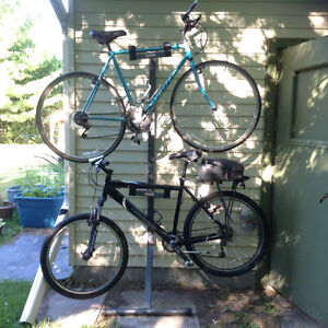 CCM Bike storage rack for two bikes, new condition