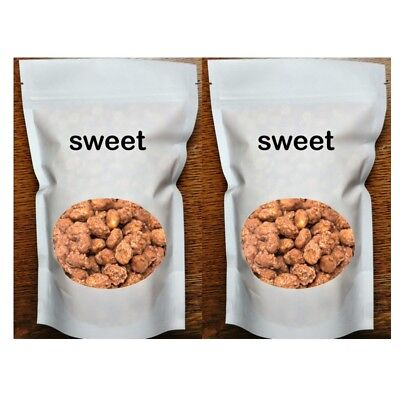 Sweet Peanut Duo Two 14 oz. Bags. Peanut Brittle Bites