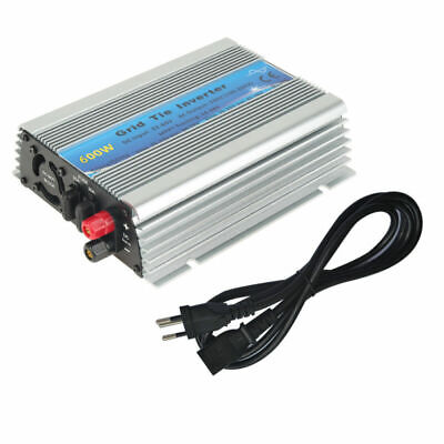 Grid Tie (Grid Tie Inverter DC22V-60V Wechselstrom AC 220-240V Solar Inverter 600W)