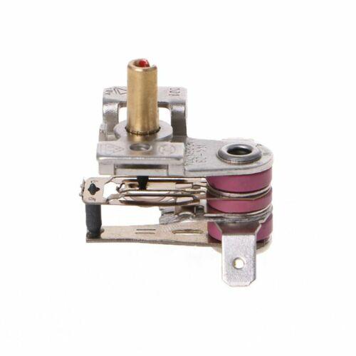 250V 16A Adjustable 90 Celsius Temperature Switch Bimetallic