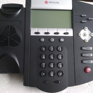 VOIP Phone - Polycom SoundPoint IP450 - hardly used