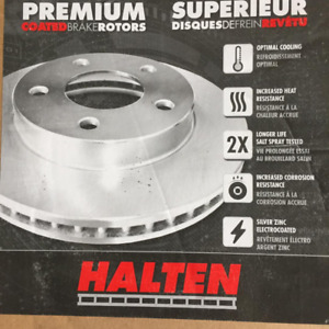 New in Box 2001 to 2010 GM 2500 AND 3500 Front Rotors