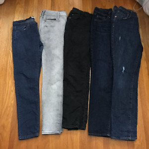 Garage, Forever 21 and Old Navy Jeans - Various Sizes