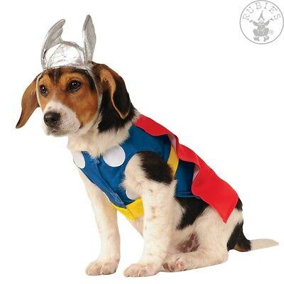 Hundekostüm Thor Dog Costume Rubies Hund Kostüm Fasching - Thor Kostüm Hund