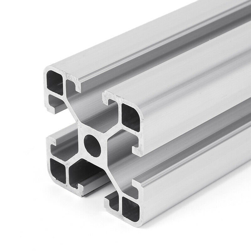 "Aluminum T-slot 4040 extruded profile 40x40-8 Length 1000mm, 4 pieces set (<40"")"
