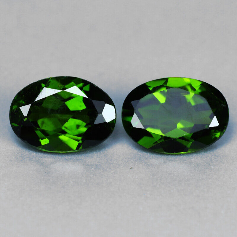 Natural Loose Chrome Diopside Green | Round | 1.76 cts Loose Gemstone
