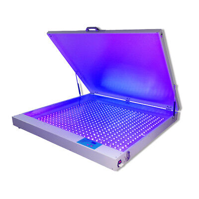 Big Desktop 42x 50 240w Led Uv Exposure Unit Screen Printing Exposure Machine