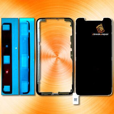Iphone X 10 Rahmen Kleber für Glas Scheibe Glass Lens Display Front Reparatur