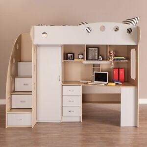 Bunk Bed with Desk, Wardrobe & Drawers London Ontario image 1