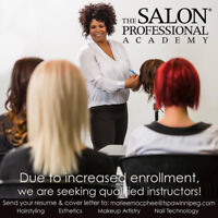 Hairstyling Educator Position