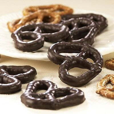 (SweetGourmet Asher's Dark Chocolate Covered Pretzels - 1 LB FREE SHIPPING!)