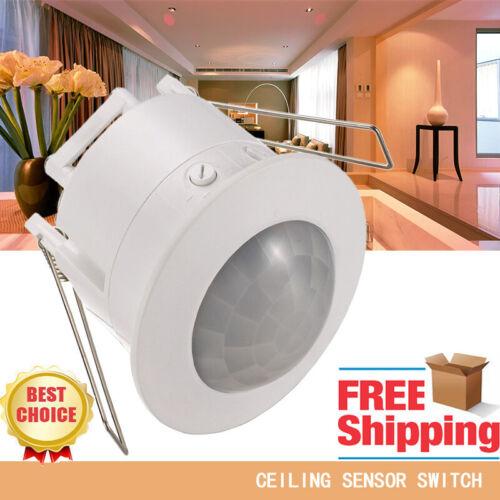 LED Recessed Ceiling Motion Sensor Light Outdoor Garden Wall