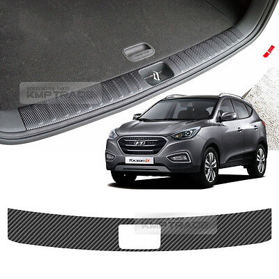 B Pillar Mask Skinny Carbon Black Decal Sticker 6p For 2016 Hyundai Tucson