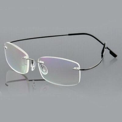 2X Flexible Randlos Frameless Lesebrille Leser Brillen Lesehilfe +1,00 bis