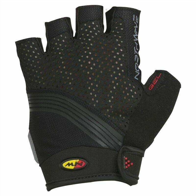 Northwave Galaxy Short Finger Summer Men Gloves Black M