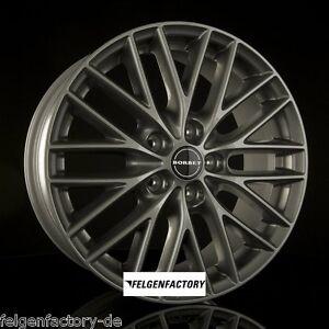 BORBET BS5 Felgen 8x18 Zoll ET50 5x112 Metal Grey VW Golf 5 6 7 Audi A3 Seat