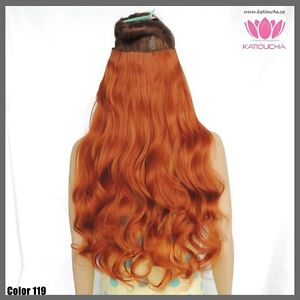 """Clip in hair extension,60 cm,24"""",NEW COLORS!!! AUBURN,COPPER RED Yellowknife Northwest Territories image 7"""