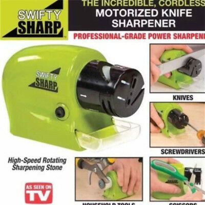 Electric Kitchen Knife Sharpener Grindstone Swifty Sharp Kitchen Cutter Tool