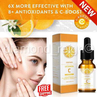 Vitamin C Serum Hyaluronic Acid For Face Anti Ageing Wrinkle Organic Skin Care