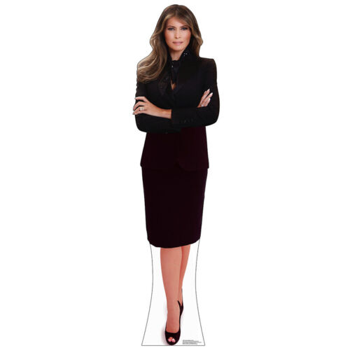 MELANIA TRUMP Lifesize CARDBOARD CUTOUT Standee Standup Poster First Lady USA