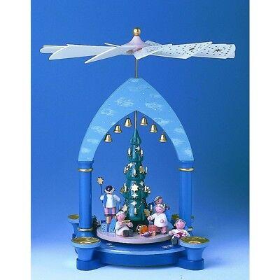 548-A70002 KWO Pyramide Engel unterm Weihnachtsbaum gebraucht kaufen  Essen