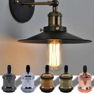 Aluminium Lamp Holder Bulb Edison Torch Vintage Base Socket