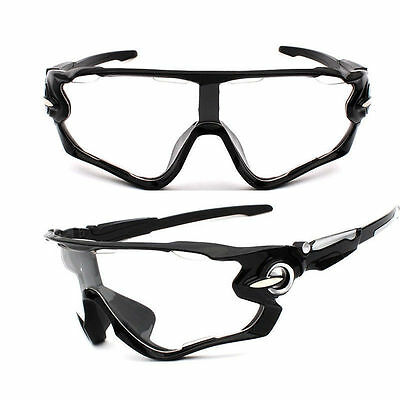 Sunglasses Clear Black Mountain Bike Cycling Helmet Sun Glasses Biking Men (Womens Cycling Glasses)