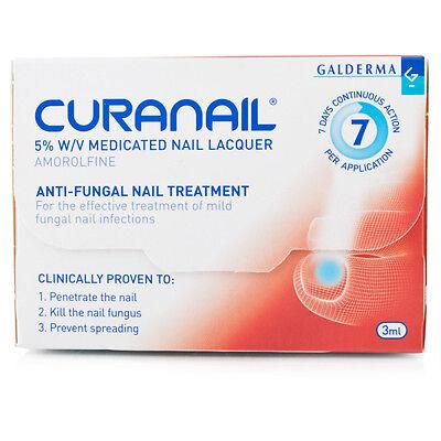 Curanail 5% Anti Fungal Nail Lacquer 3ml