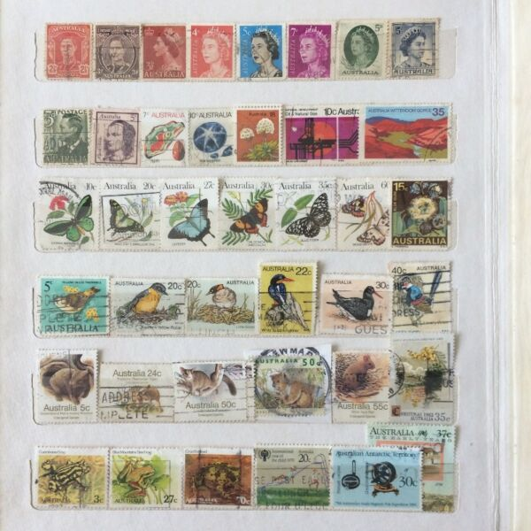 Collectible Australia Stamps