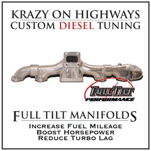 Krazy On Highways Full Tilt Manifolds & Turbos Sale!