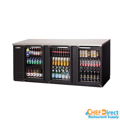Everest Ebb90g 90 Back Bar Cooler W Glass Door