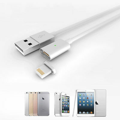 1M Magnetic Micro USB Data Charge Cable For iPhone 5 6s 7 Plus$