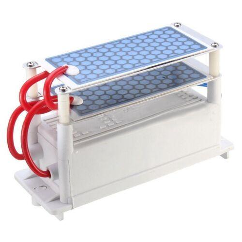 Heavy Duty AC 110V 10000 Mg/H (10g) Ozone Generator With Blue Plates Treatm N8H9