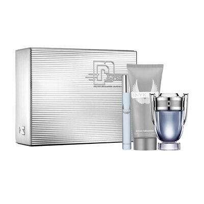 PACO RABANNE INVICTUS 50ML EDT + 100 SHOWER GEL + 10ML EDT BRAND NEW GIFT SET