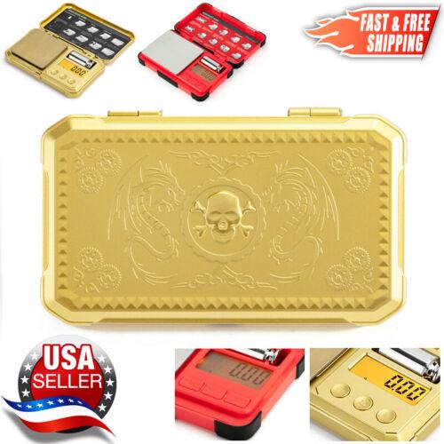 Digital Pocket Scale 200g x 0.01g Cal Jewelry Gold Gram Herb Karat Weight - USA