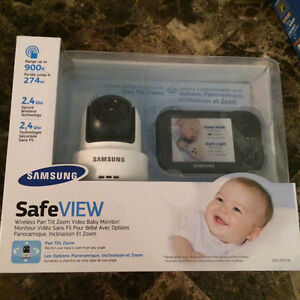 **Brand new** Samsung safe view video baby monitor