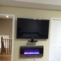 SAME DAY TV MOUNTING AND INSTALLATION IN THE GTA 647-800-8430
