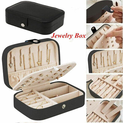 2020NEW Jewelry Box Storage Case Ring Earring Ornaments Necklace Case Organizer