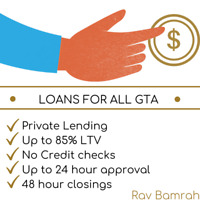 GTA mortgages and loans (private lending)