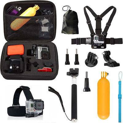 10 in 1 Accessories Kit Replacement Parts Set for GoPro Hero 5 4 Session Camera