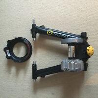 Cyclops Fluid 2 Indoor Trainer plus riser block
