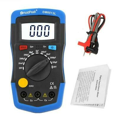 Handheld Digital Capacitance Meter Capacitor Tester Capacimeters Electronic Auto