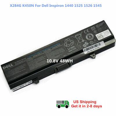 OEM Genuine Battery for Inspiron 1525 1526 1440 1545 1546 1750 X284G K450N GW240